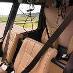 Перетяжка салона самолёта и вертолёта