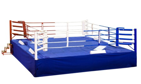(Русский) Обвязка на боксёрский ринг