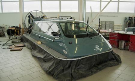 Катер на воздушной подушке Christy Hovercraft