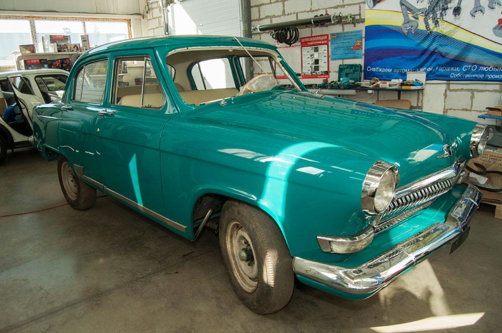 """(Русский) ГАЗ-21 1963 год  """"Американка"""""""