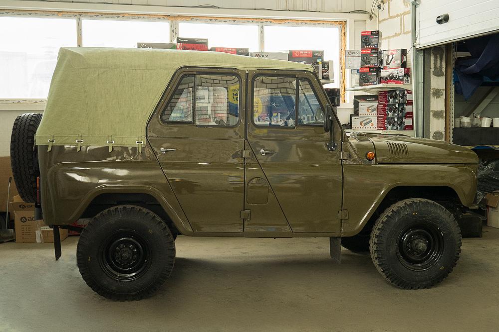 (Русский) УАЗ 469 1983 г.
